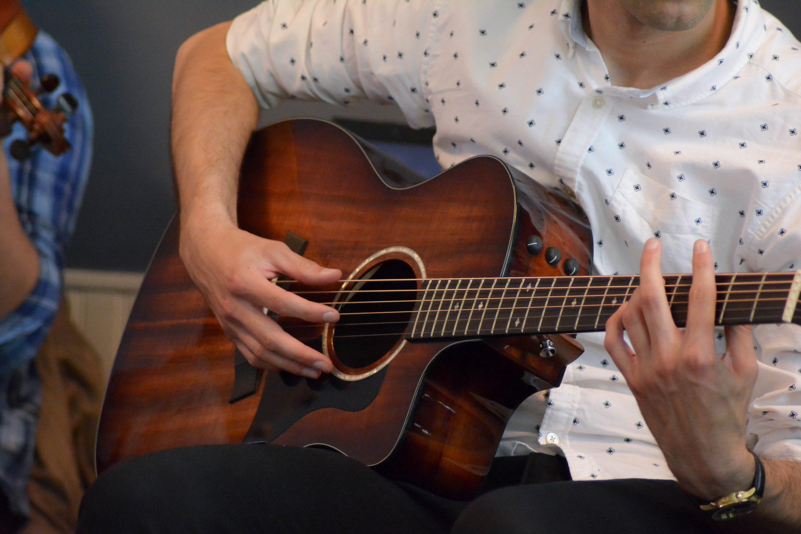 guitare et guitariste